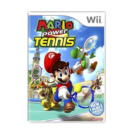 Jogo Mario Power Tennis - Wii