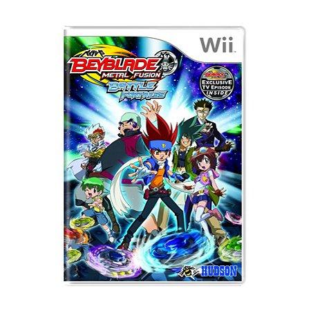 Jogo Beyblade Metal Fusion: Battle Fortress - Wii