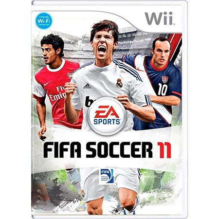 Jogo FIFA Soccer 11 - Wii