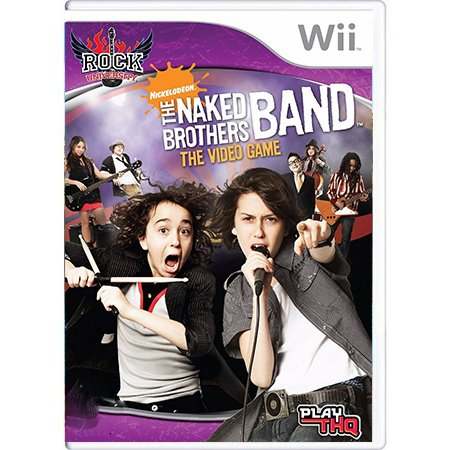 Jogo The Naked Brothers Band - Wii