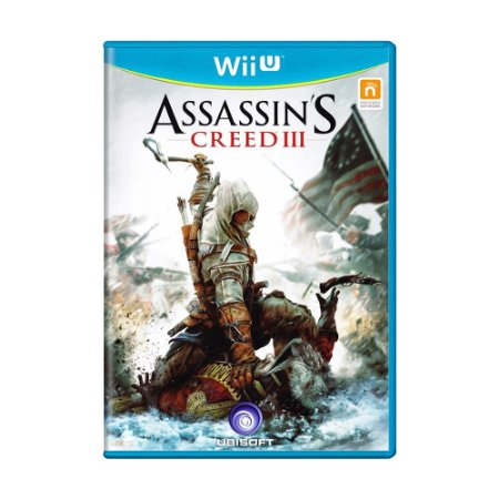 Jogo Assassin's Creed III - Wii U