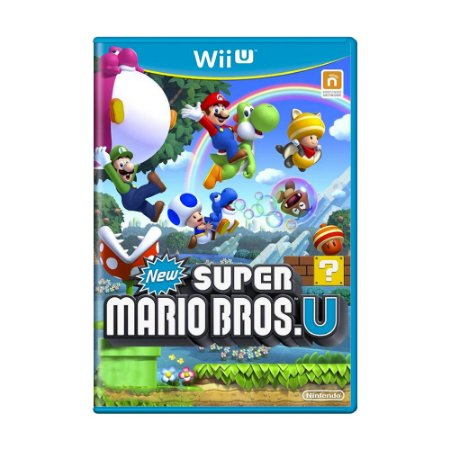 Jogo New Super Mario Bros U - Wii U