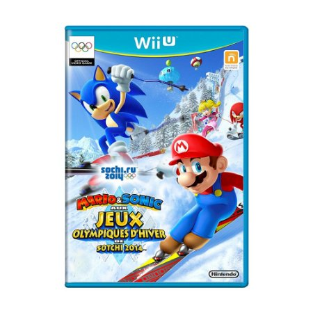 Jogo Mario & Sonic: At the Olympic Winter Games Sochi 2014 - Wii U
