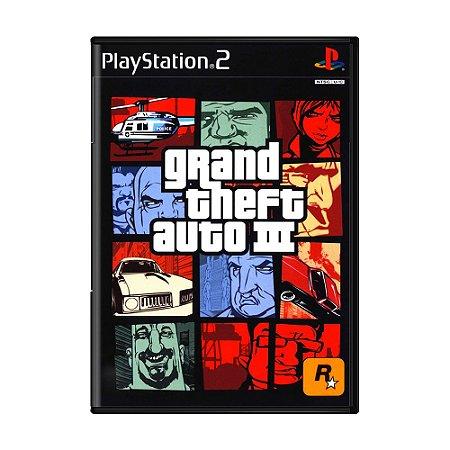 Jogo Grand Theft Auto III (GTA 3) - PS2