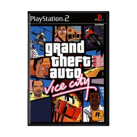Jogo Grand Theft Auto: Vice City (GTA) - PS2