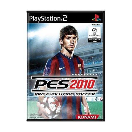 Jogo Pro Evolution Soccer 2010 - PS2