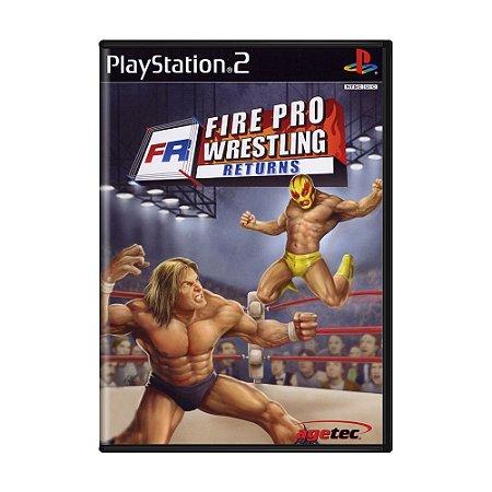 Jogo Fire Pro Wrestling Returns - PS2