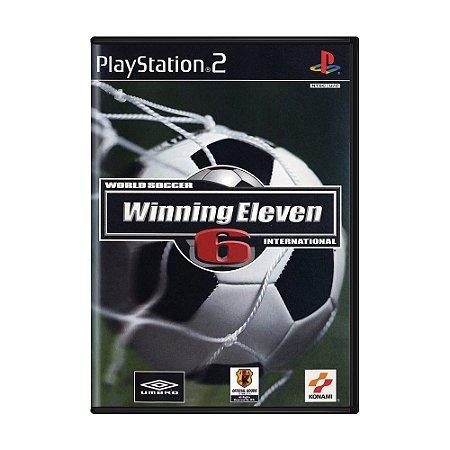 Jogo Winning Eleven 6 - PS2