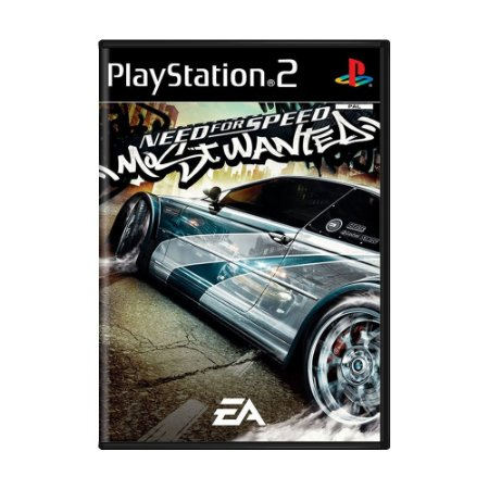 Jogo Need for Speed Most Wanted - PS2