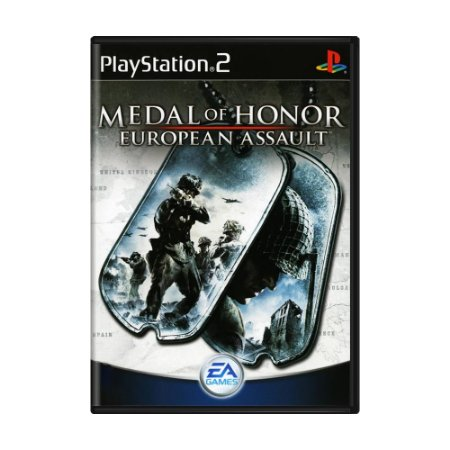Jogo Medal of Honor: European Assault - PS2
