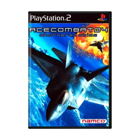 Jogo Ace Combat 4: Shattered Skies - PS2