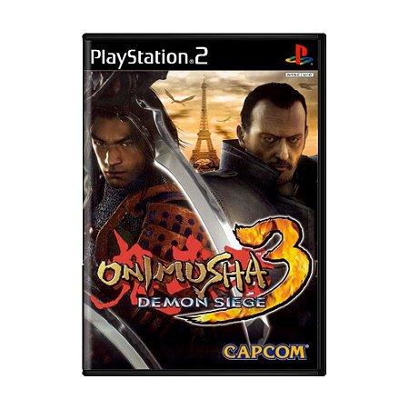 Jogo Onimusha 3: Demon Siege - PS2
