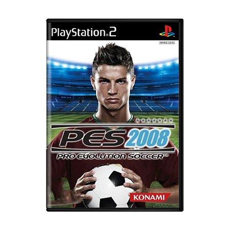 Jogo Pro Evolution Soccer 2008 (PES 08) - PS2