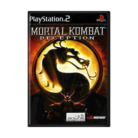 Jogo Mortal Kombat: Deception - PS2