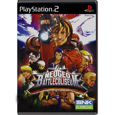 Jogo NeoGeo Battle Coliseum - PS2