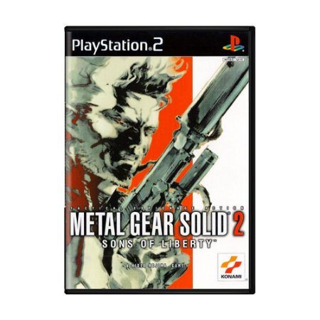 Jogo Metal Gear Solid 2: Sons of Liberty - PS2