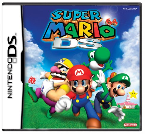 Jogo Super Mario 64 - DS