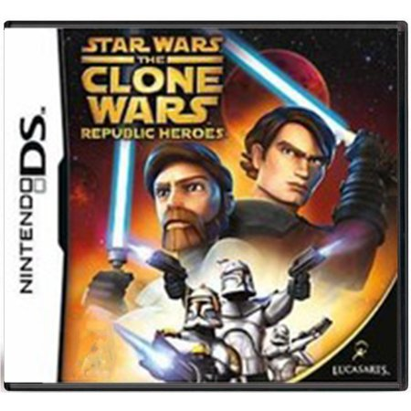 Jogo Star Wars: The Clone Wars Republic - DS