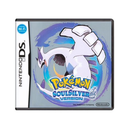 Jogo Pokémon Soul Silver Version - DS