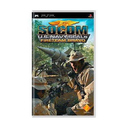 Jogo SOCOM U.S. Navy SEALs: Fireteam Bravo - PSP