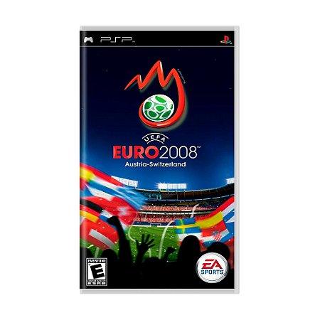 Jogo UEFA EURO 2008 - PSP
