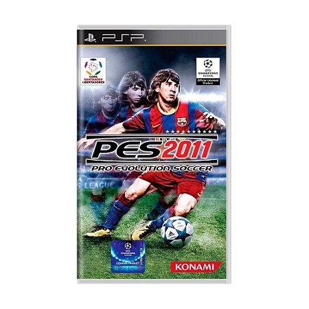 Jogo Pro Evolution Soccer 2011 (PES 11) - PSP