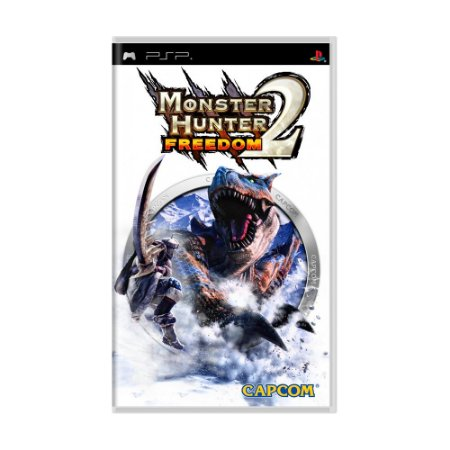 Jogo Monster Hunter Freedom 2 - PSP