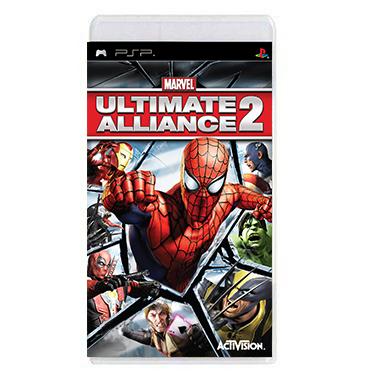 Jogo Ultimate Alliance 2 - PSP