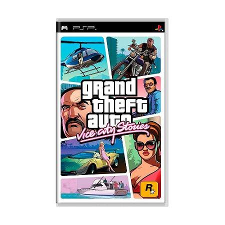 Jogo Grand Theft Auto: Vice City Stories (GTA) - PSP