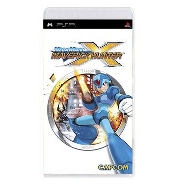 Jogo Mega Man Maverick Hunter X - PSP