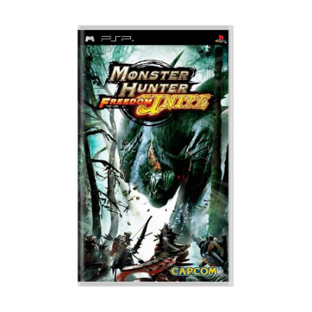 Jogo Monster Hunter Freedom Unite - PSP
