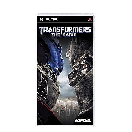 Jogo Transformers: The Game - PSP