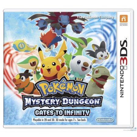 Jogo Pokémon: Mystery Dungeon Gates to Infinity - 3DS
