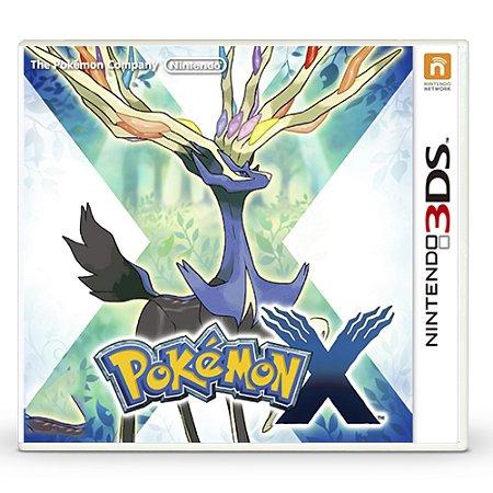Jogo Pokémon X - 3DS