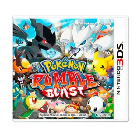 Jogo Pokémon: Rumble Blast - 3DS