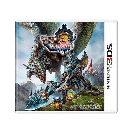 Jogo Monster Hunter 3: Ultimate - 3DS