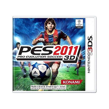 Jogo Pro Evolution Soccer 2011 3D (PES 11) - 3DS
