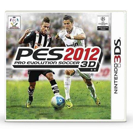 Jogo Pro Evolution Soccer 2012 3D (PES 12) - 3DS