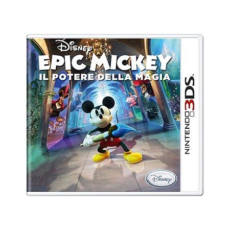 Jogo Epic Mickey: Il Potere Della Magia - 3DS