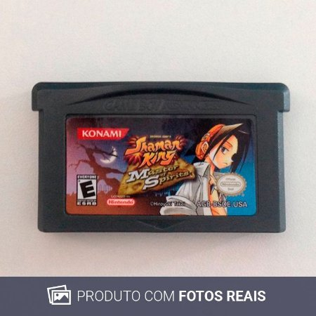 Jogo Shaman King: Master of Spirits - GBA Game Boy Advance