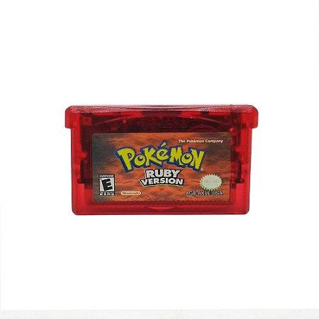 Jogo Pokémon: Ruby Version - GBA - Game Boy Advance