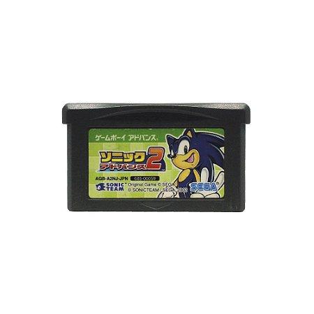 Jogo Sonic Advance 2 - GBA Game Boy Advance