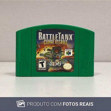 Jogo BattleTanx: Global Assault - N64