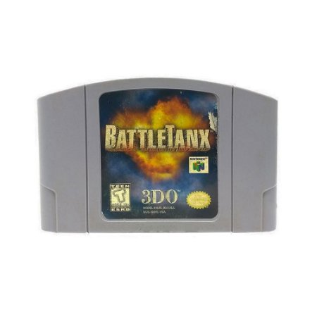 Jogo BattleTanx - N64