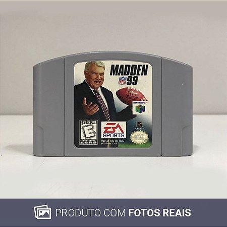 Jogo Madden NFL 99 - N64