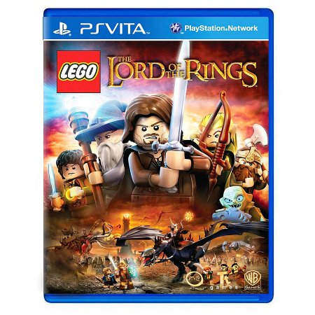 Jogo LEGO: The Lord of The Rings - PS Vita