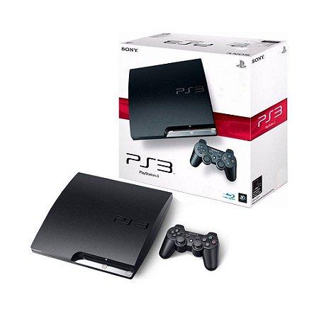 Console PlayStation 3 Slim 120GB - Sony
