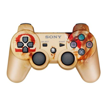 Controle Sony Dualshock 3 God of War - PS3