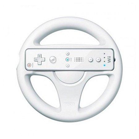 Volante para Nitendo Wii Branco - Wii