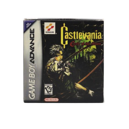 Jogo Castlevania: Circle of the Moon - GBA Game Boy Advance